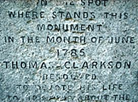 Inscription on Monument