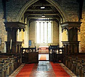 Pulpit & Reading Desk, Leighton Bromswold Church