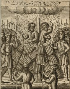 The burning of William Wolsey and Robert Pygot, Martyrs