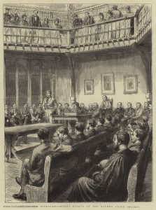 The Church Disestablishment Debate at the Oxford Union Society