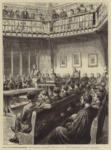 The Church Disestablishment Debate at the Oxford Union Society