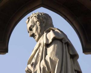 Clarkson's memorial in Wisbech